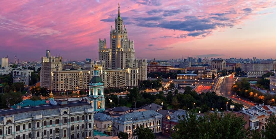 Самые необычные здания Москвы
